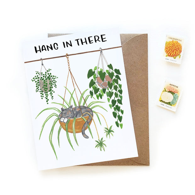 Hang In There Card 1