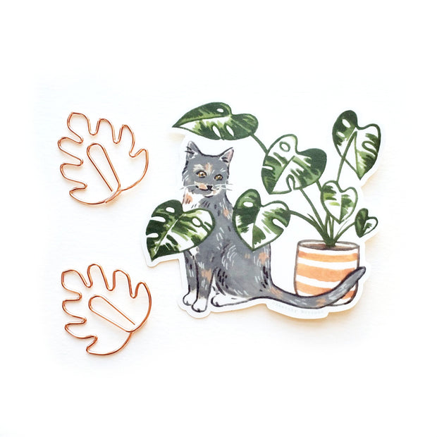 Tiny Plant and Cat Sticker 8 1