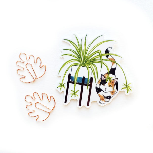 Tiny Plant and Cat Sticker 9 1