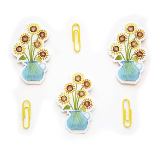 Sunflower Pitcher Sticker 1