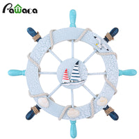 Nautical Wooden Ship Wheel