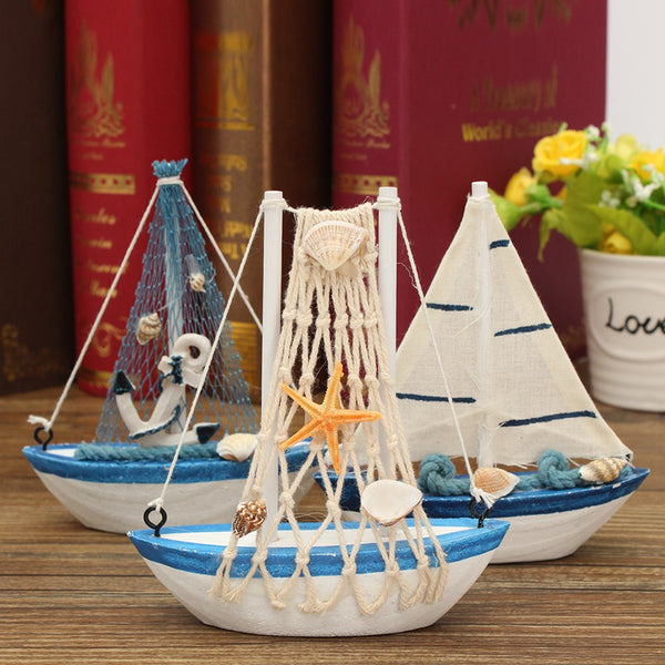 Mini Nautical Sail Boat