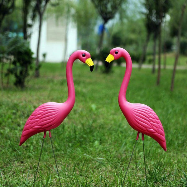Lawn Flamingos Set of 2