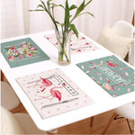 Flamingo Linen Placemat