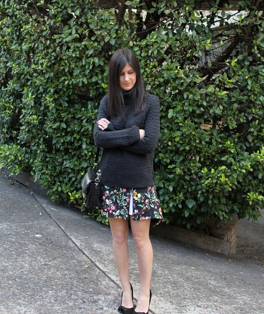 Phillip Lim Floral Skirt