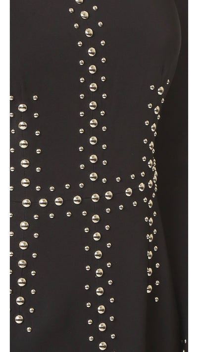 ALC Madison Studded Stretch Crepe Dress