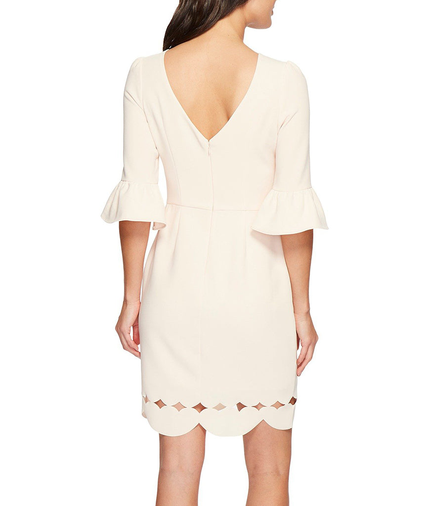 Adelyn Rae Blush Bell Sleeve - Boro Dress Rentals