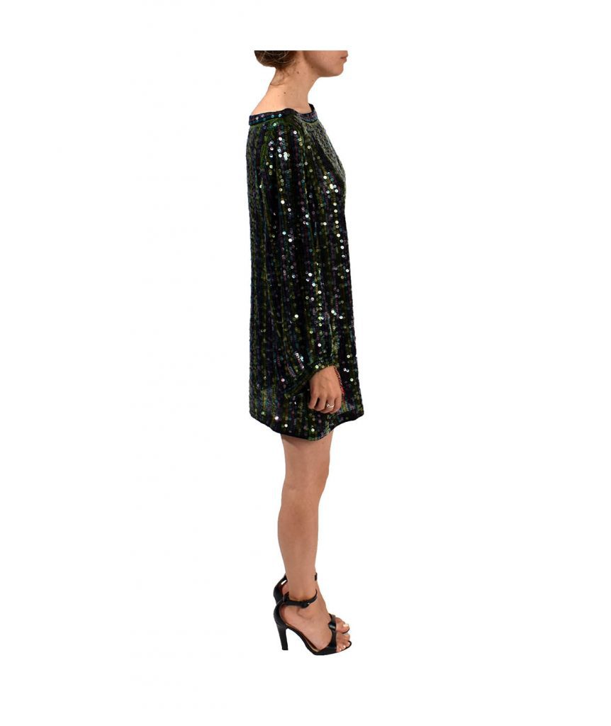 Elizabeth & James Dark Sequin - Boro Dress Rentals