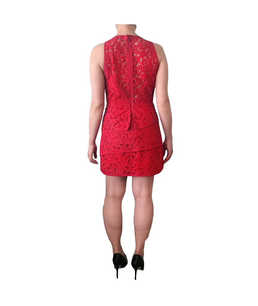 BCBG Red Lace