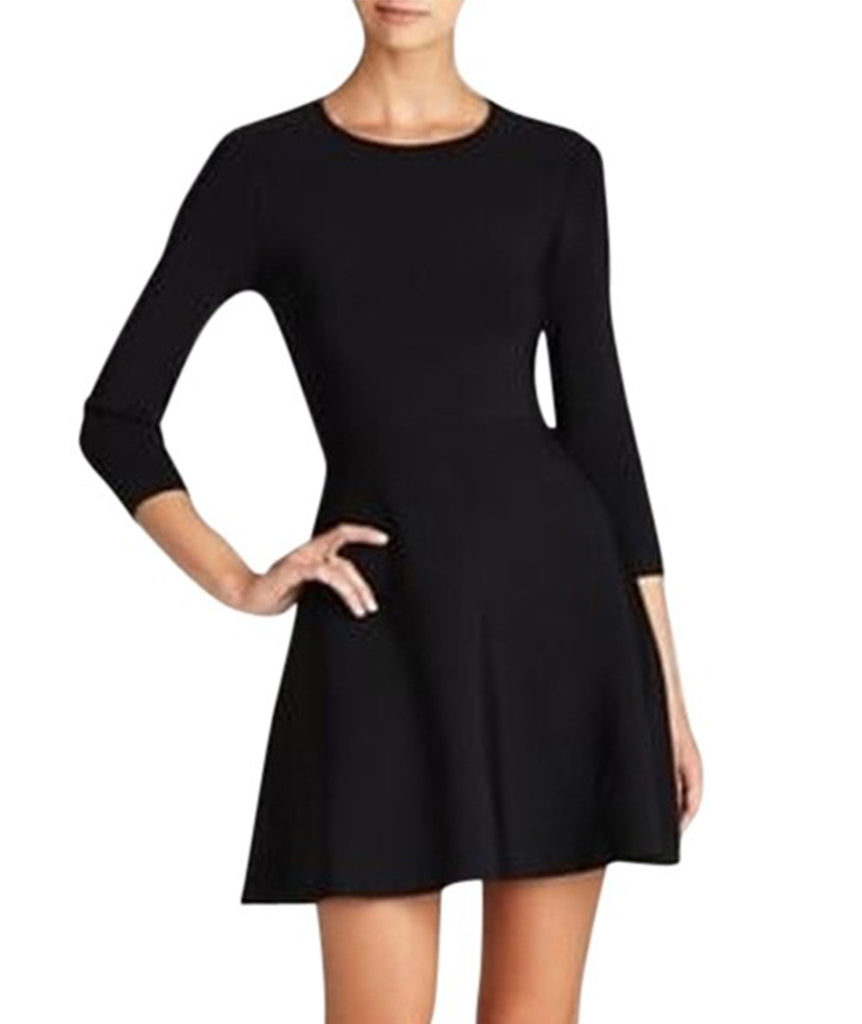 BCBG Black Bandage Dress Flared