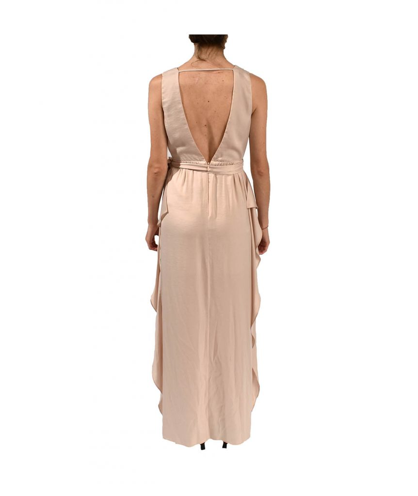 BCBG Blush Flowy - Boro Dress Rentals