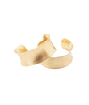 Omi Woods Brass Cuffs - Boro Dress Rentals