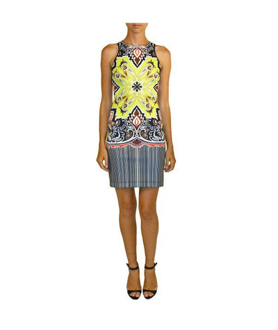 Clover Canyon Yellow Pattern - Boro Dress Rentals