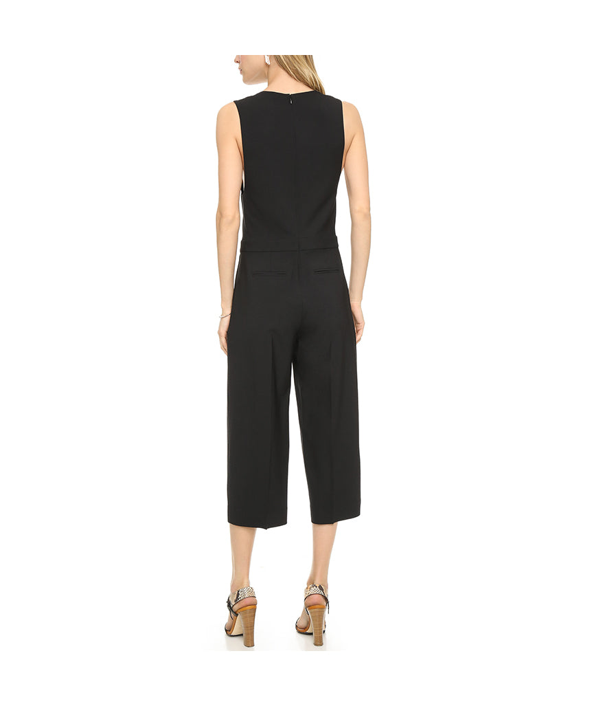 Club Monaco Black Jumpsuit Short