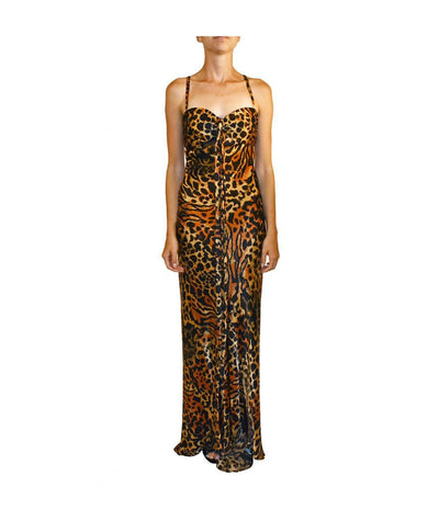 Marc Bouwer Cheetah - Boro Dress Rentals