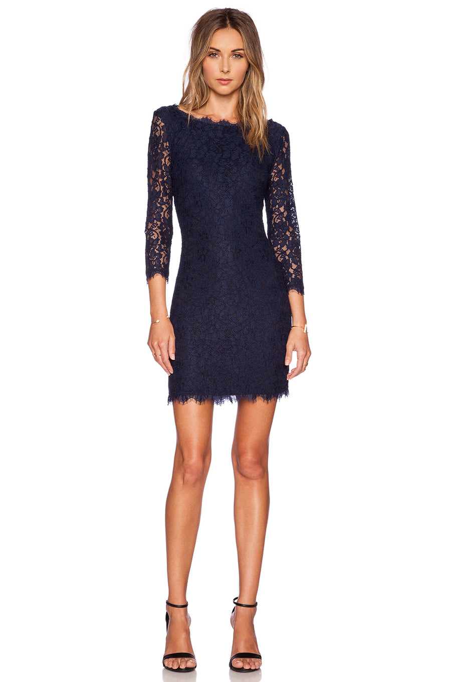 Diane Von Frustenberg Zarita Lace Dress