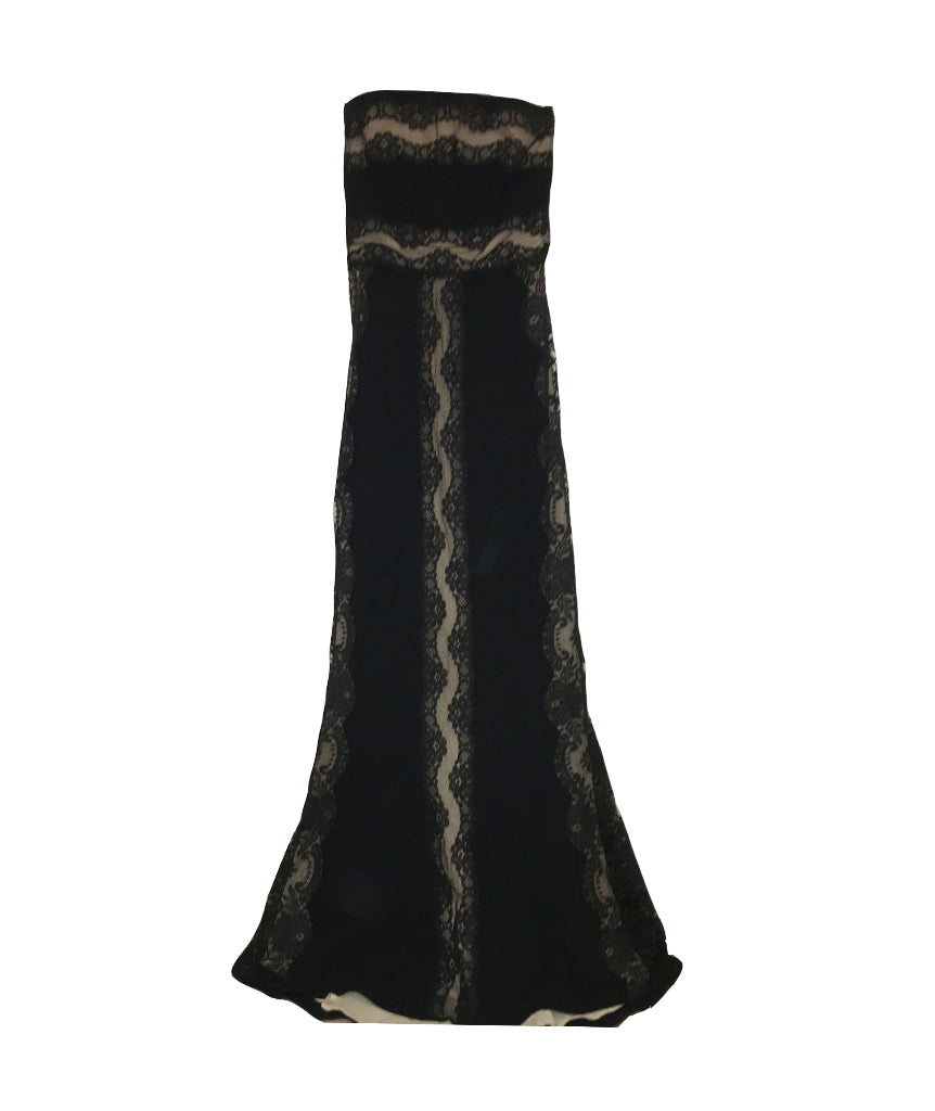 Dolce & Gabbana Black Lace Gown