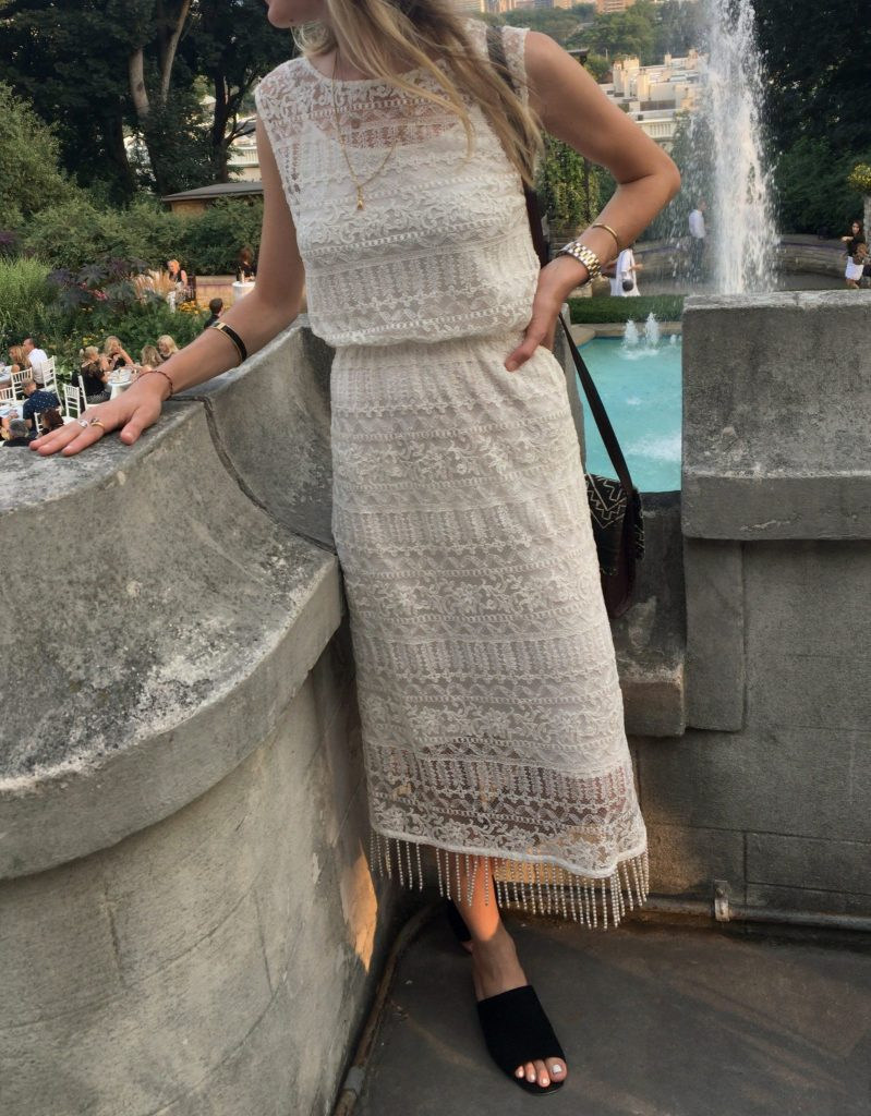 Alice & Olivia Lace Beads - Boro Dress Rentals