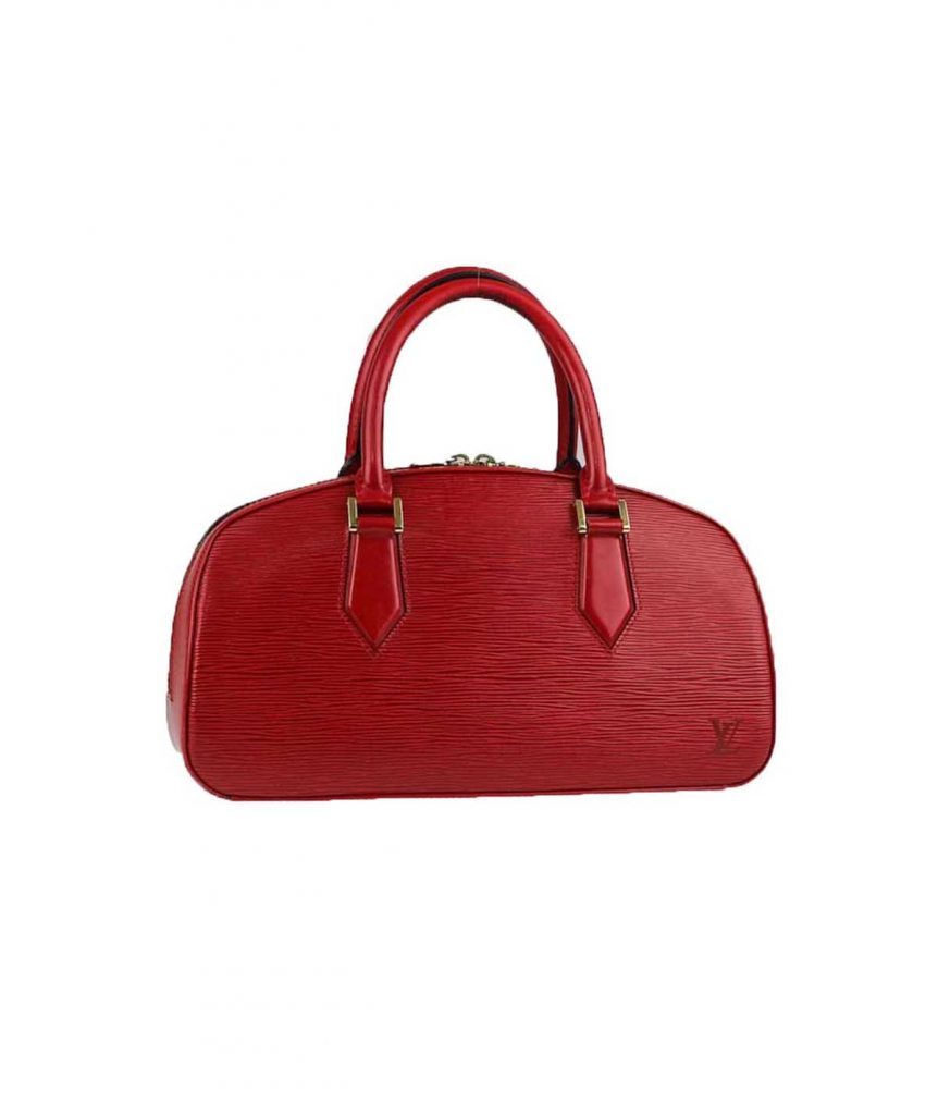 Louis Vuitton Red Epi Bag - Boro Dress Rentals