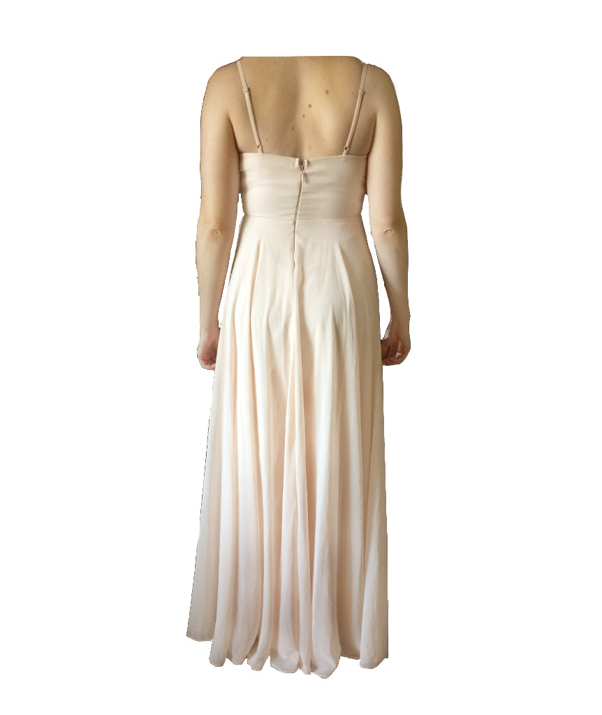 Lulus Blush Gown - Boro Dress Rentals