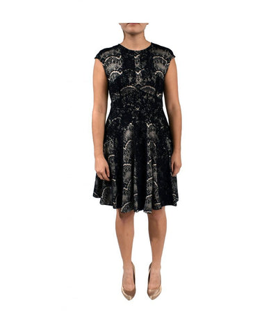 Marc Bouwer Black White Lace - Boro Dress Rentals
