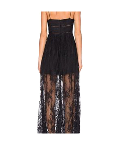 X by NBD Black Lace - Boro Dress Rentals