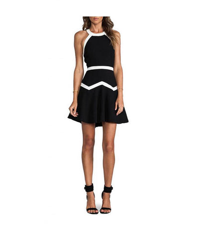 Parker White & Black - Boro Dress Rentals