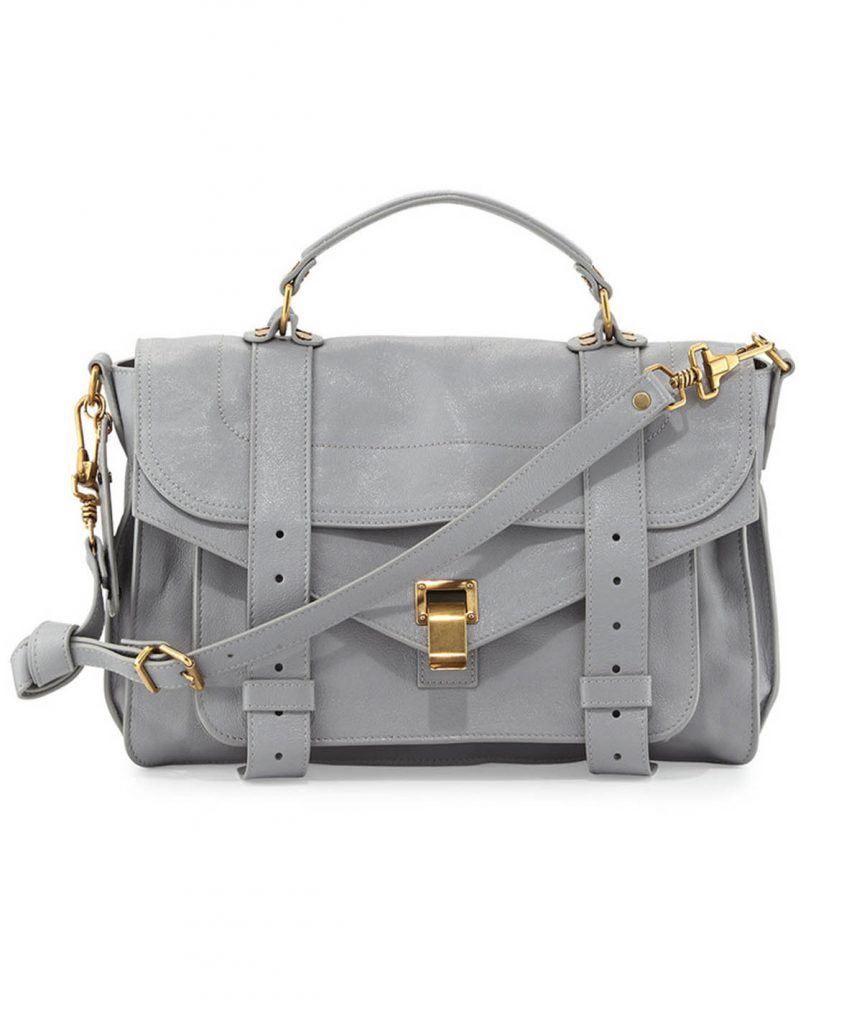 Proenza Schouler Grey Crossbody - Boro Dress Rentals