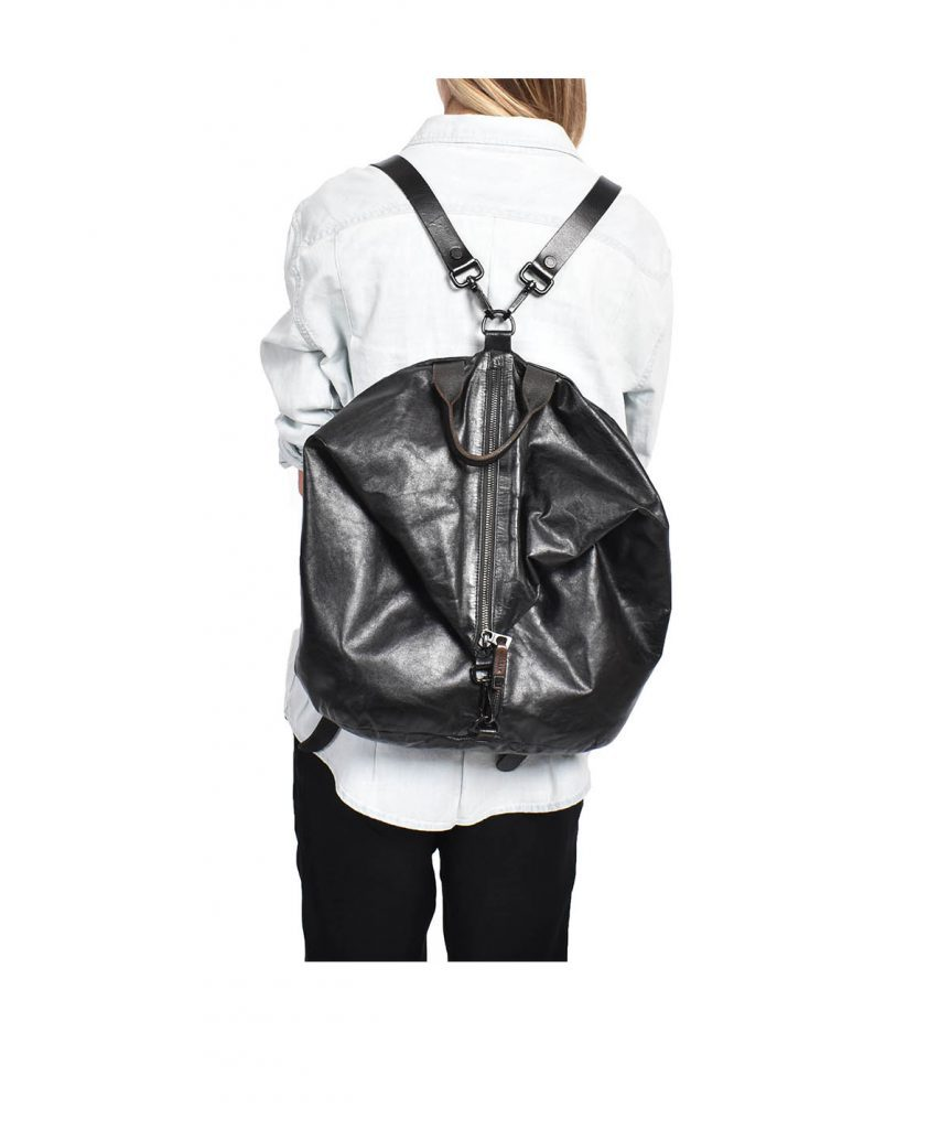 Rudsak Black Leather Backpack - Boro Dress Rentals