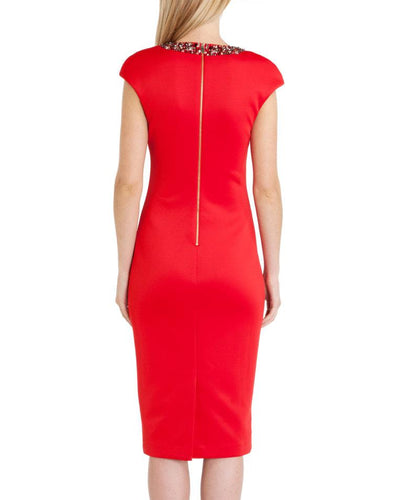 Ted Baker Elenna Embellished Midi Dress