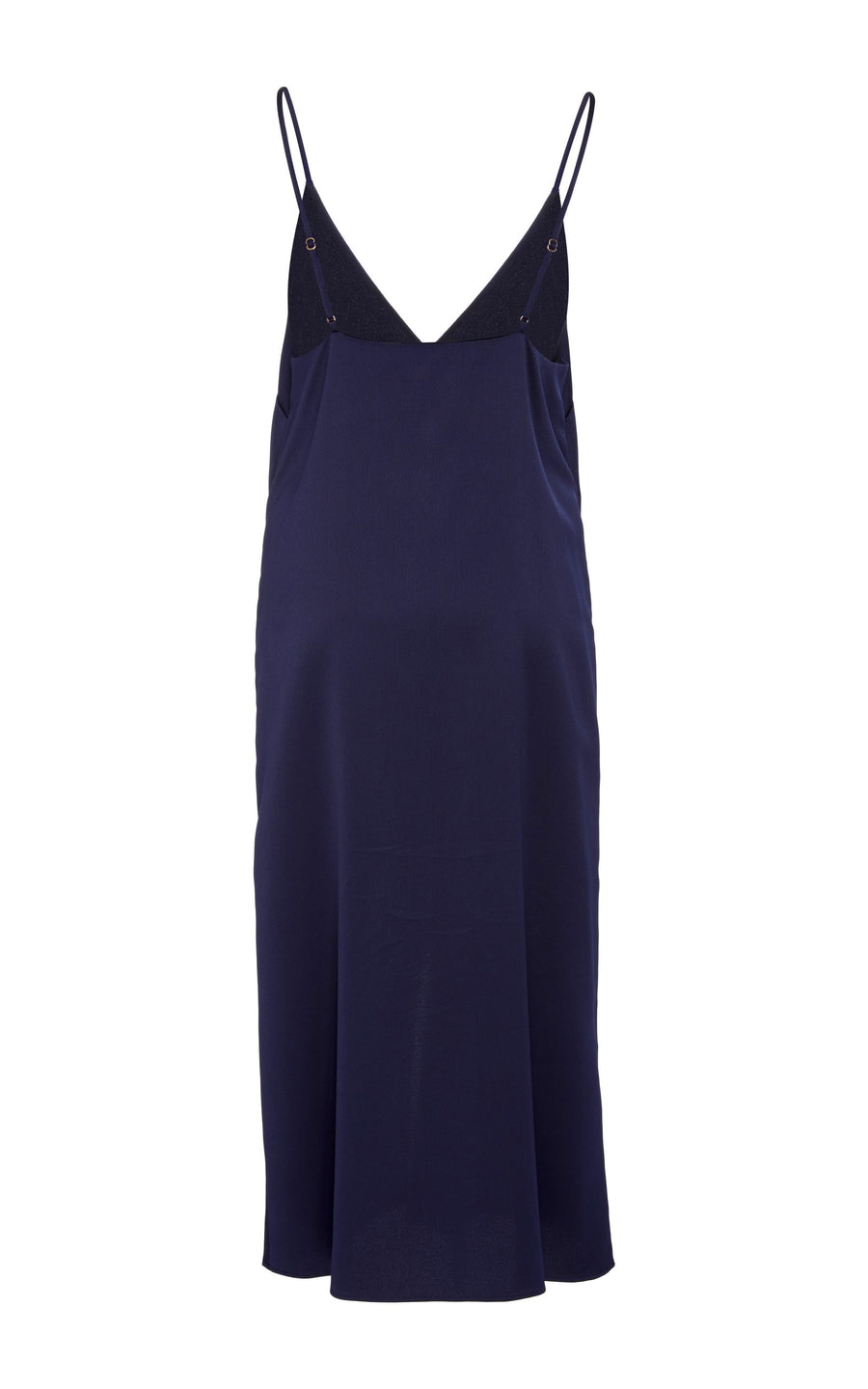 Tibi Celestia Satin Slip Dress