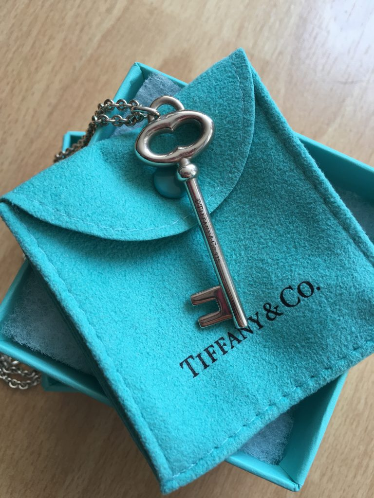 Tiffany & Co. Key Necklace - Boro Dress Rentals