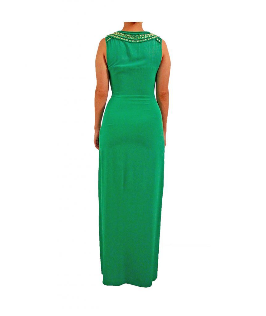 Truese Green Beaded - Boro Dress Rentals
