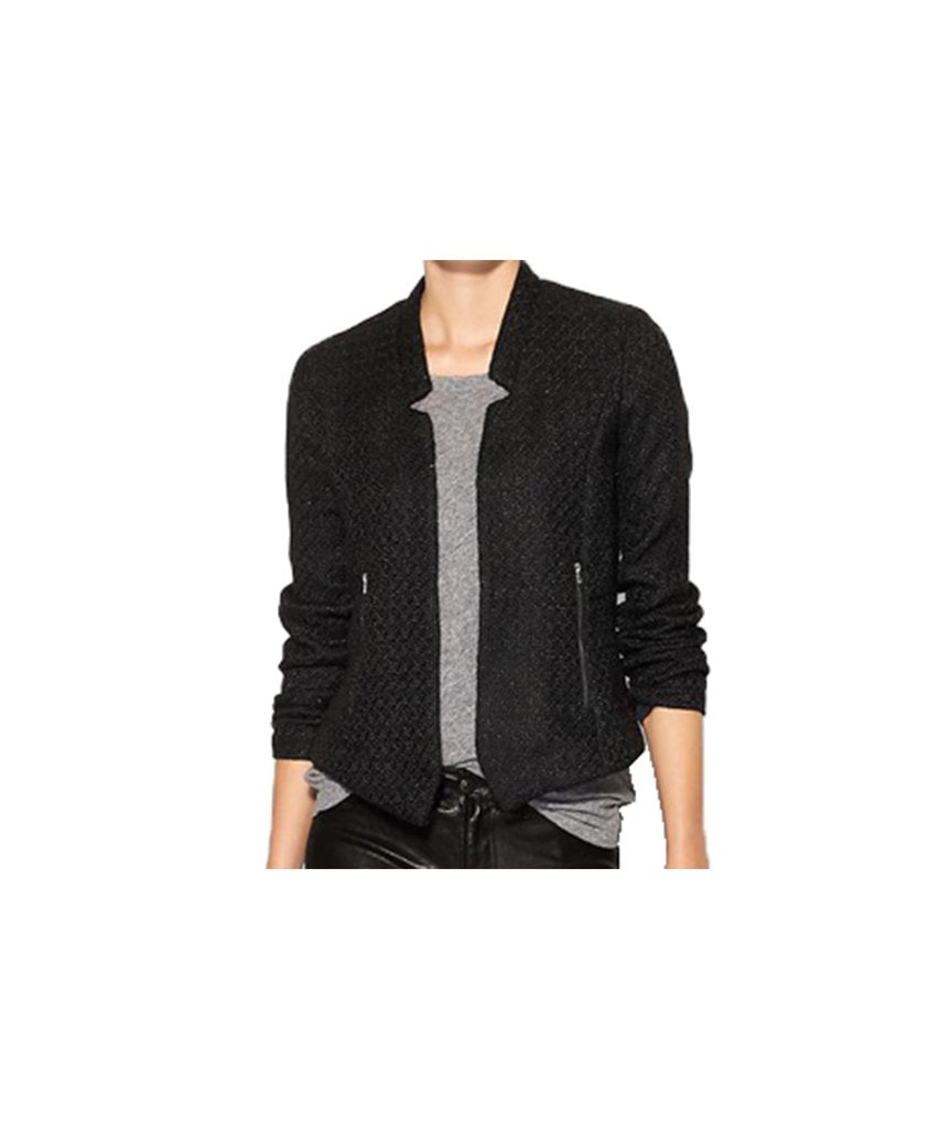 Grace Wells Black Tweed jacket - Boro Dress Rentals