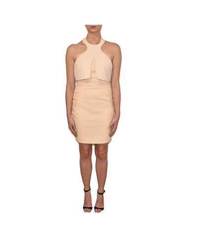 AQ/AQ Blush Halter - Boro Dress Rentals