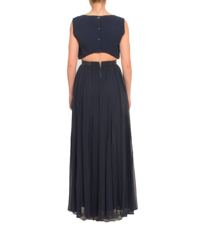 Alice & Olivia Navy Gown - Boro Dress Rentals