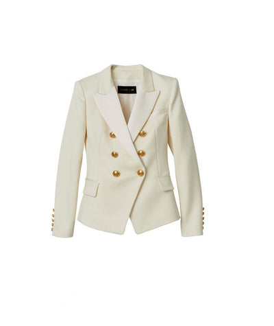 Balmain x HM White Blazer - Boro Dress Rentals