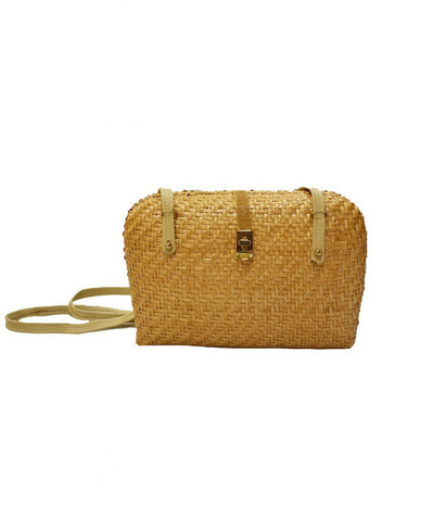 Woven Basket Purse - Boro Dress Rentals