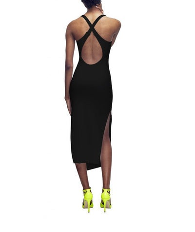Bazzul Reversible Cross-Back - Boro Dress Rentals