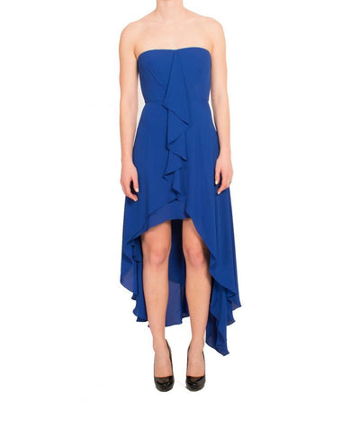 BCBG High-Low Ruffle - Boro Dress Rentals