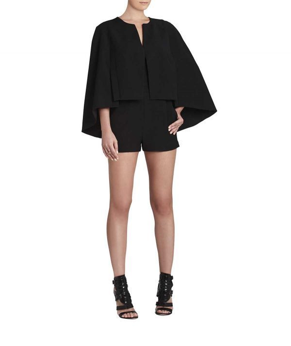 BCBG Cape Romper - Boro Dress Rentals