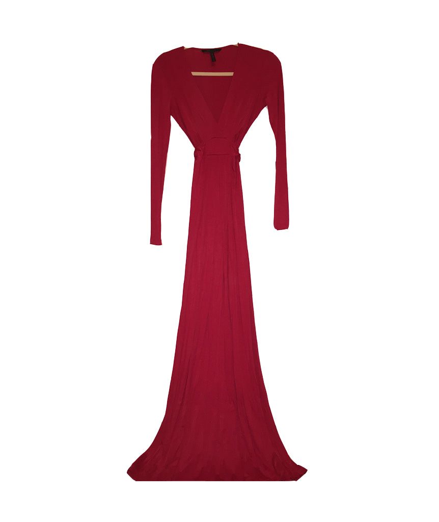 BCBG Red Gown - Boro Dress Rentals