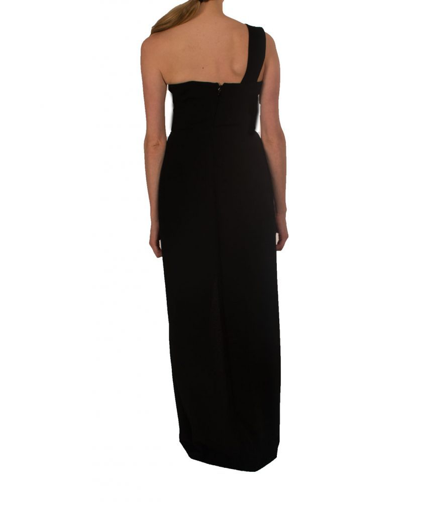 BCBG Black Gown with Cutout