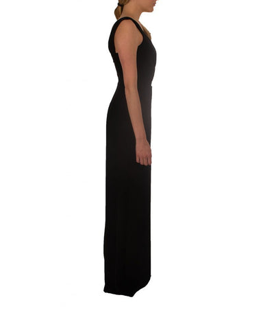 BCBG Black Gown with Cutout - Boro Dress Rentals