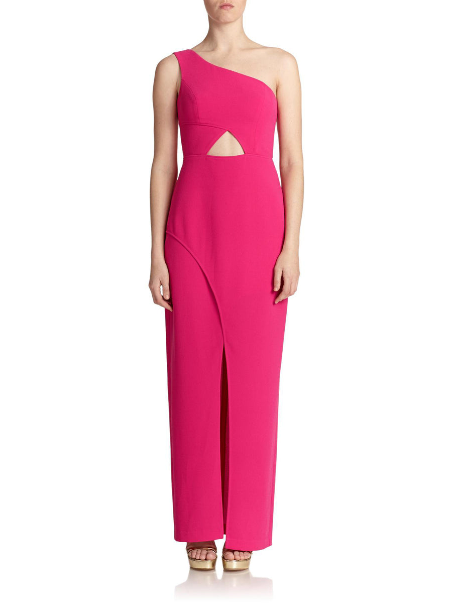 BCBG Hot Pink Gown