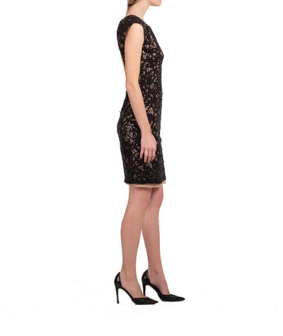 BCBG Lace Sequin - Boro Dress Rentals