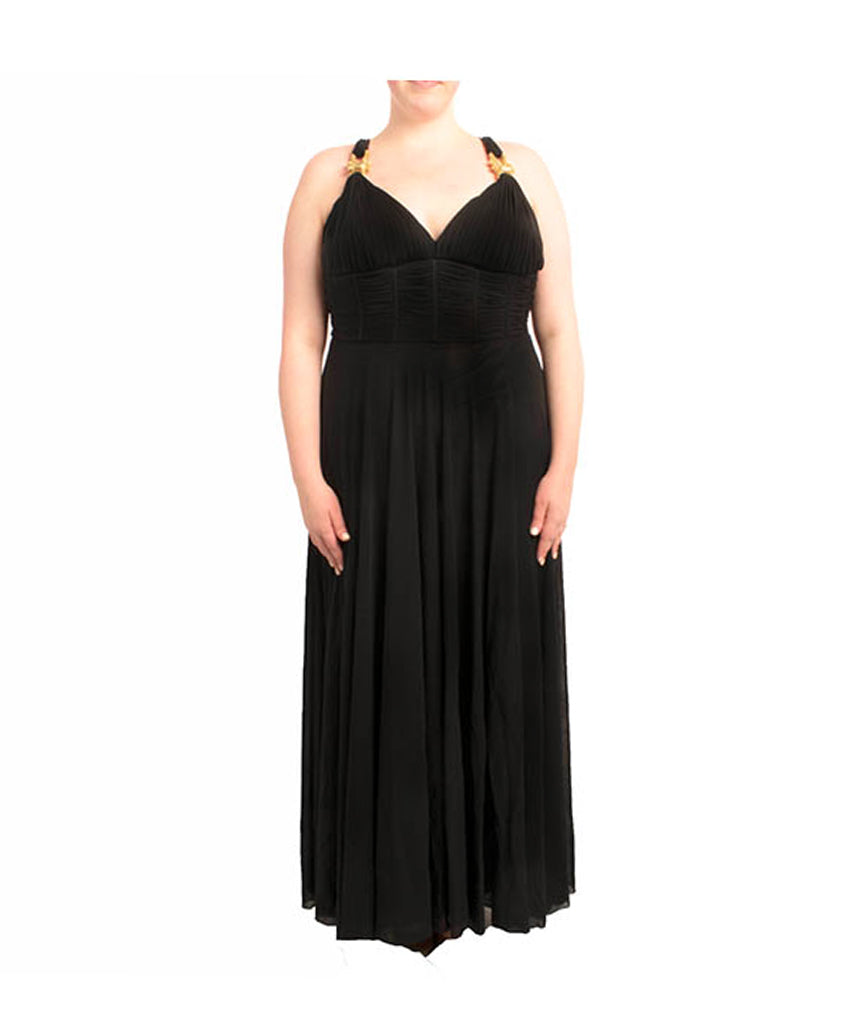Shahani Black Gown - Boro Dress Rentals