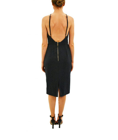 Premonition Hunter Open Back - Boro Dress Rentals