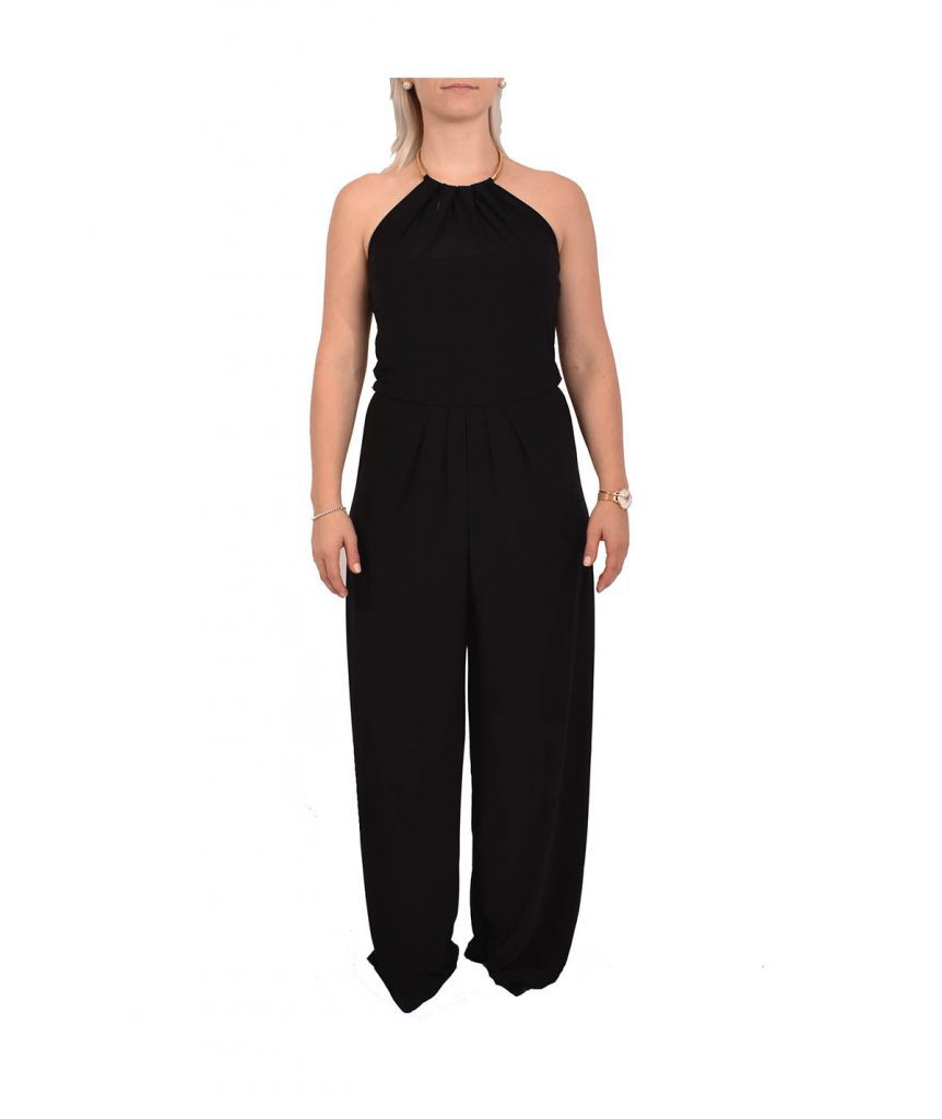 Bisou Bisou Black Jumpsuit - Boro Dress Rentals