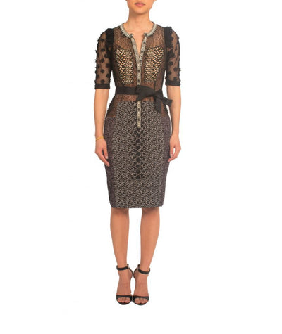 Byron Lars Lace Pencil Dress - Boro Dress Rentals